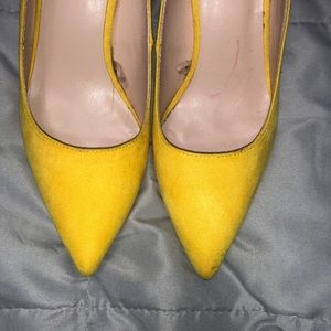 Zara Shoes - Zara | Yellow Pointed Pumps